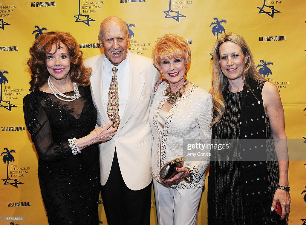 Vikki Dougan attends the Opening Night Gala of the LA Jewish Film Festival Honoring <a gi-track='captionPersonalityLinkClicked' href=/galleries/search?phrase=Carl+Reiner&family=editorial&specificpeople=660635 ng-click='$event.stopPropagation()'>Carl Reiner</a> on May 1, 2014 in Los Angeles, California.