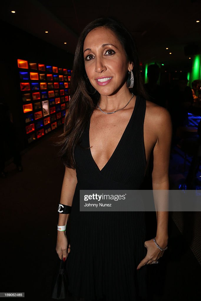Vikki Ziegler attends VH1's 'Mobwives' Season 3 Premiere Viewing Party at Frames Bowling Lounge on January 6, 2013 in New York City.