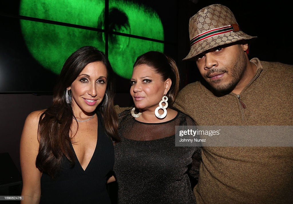 Vikki Ziegler, Karen Gravano and Storm attend VH1's 'Mobwives' Season 3 Premiere Viewing Party at Frames Bowling Lounge on January 6, 2013 in New York City.