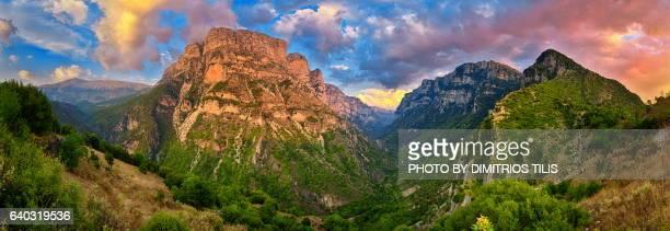 Vikos Gorge panorama