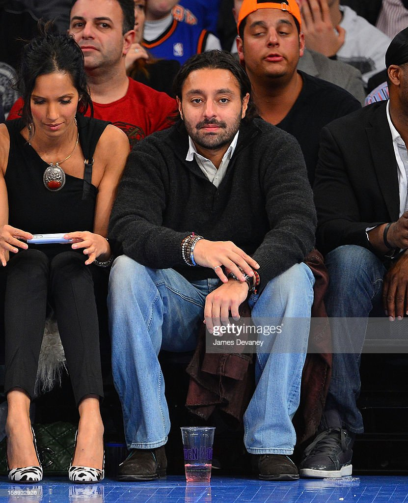 <a gi-track='captionPersonalityLinkClicked' href=/galleries/search?phrase=Vikram+Chatwal&family=editorial&specificpeople=871345 ng-click='$event.stopPropagation()'>Vikram Chatwal</a> attends the San Antonio Spurs vs New York Knicks game at Madison Square Garden on January 3, 2013 in New York City.