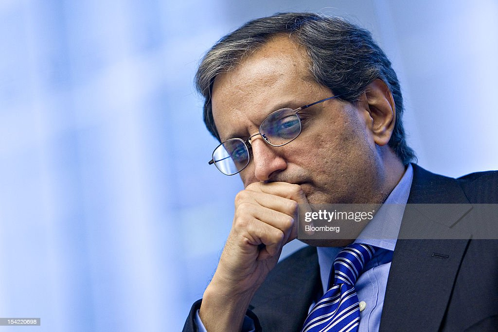 <a gi-track='captionPersonalityLinkClicked' href=/galleries/search?phrase=Vikram+Pandit&family=editorial&specificpeople=5610048 ng-click='$event.stopPropagation()'>Vikram Pandit</a>, chief executive officer of Citigroup Inc., listens during an interview in New York, U.S., on Wednesday, June 10, 2009. Citigroup Inc. directors ousted Chief Executive Officer <a gi-track='captionPersonalityLinkClicked' href=/galleries/search?phrase=Vikram+Pandit&family=editorial&specificpeople=5610048 ng-click='$event.stopPropagation()'>Vikram Pandit</a> on Oct. 16, 2012, after concluding that he had mismanaged operations, leading to setbacks with regulators and a loss of credibility with investors, a person with knowledge of the discussions said. Photographer: Daniel Acker/Bloomberg via Getty Images
