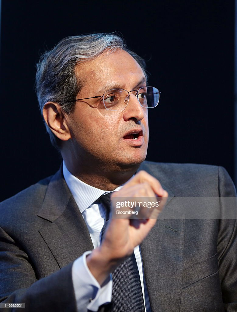 <a gi-track='captionPersonalityLinkClicked' href=/galleries/search?phrase=Vikram+Pandit&family=editorial&specificpeople=5610048 ng-click='$event.stopPropagation()'>Vikram Pandit</a>, chief executive officer of Citigroup Inc., speaks during a conference session on day one of the Saint Petersburg International Economic Forum 2012 (SPIEF) in Saint Petersburg, Russia, on Thursday, June 21, 2012. Russia's showcase investment conference, a three-day event, features foreign executives from global companies, including Citigroup Inc., Goldman Sachs Group Inc., and Siemens AG. Photographer: Andrey Rudakov/Bloomberg via Getty Images