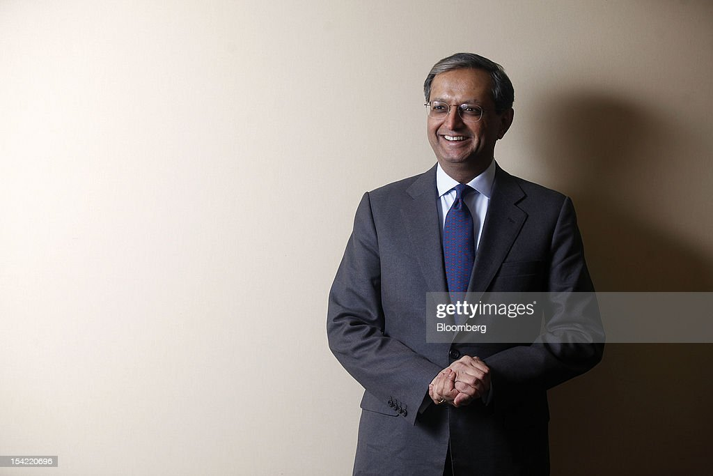 <a gi-track='captionPersonalityLinkClicked' href=/galleries/search?phrase=Vikram+Pandit&family=editorial&specificpeople=5610048 ng-click='$event.stopPropagation()'>Vikram Pandit</a>, chief executive officer of Citigroup Inc., stands for a photograph following a television interview on day two of the World Economic Forum (WEF) in Davos, Switzerland, on Thursday, Jan. 26, 2012. Citigroup Inc. directors ousted Chief Executive Officer <a gi-track='captionPersonalityLinkClicked' href=/galleries/search?phrase=Vikram+Pandit&family=editorial&specificpeople=5610048 ng-click='$event.stopPropagation()'>Vikram Pandit</a> on Oct. 16, 2012, after concluding that he had mismanaged operations, leading to setbacks with regulators and a loss of credibility with investors, a person with knowledge of the discussions said. Photographer: Simon Dawson/Bloomberg via Getty Images