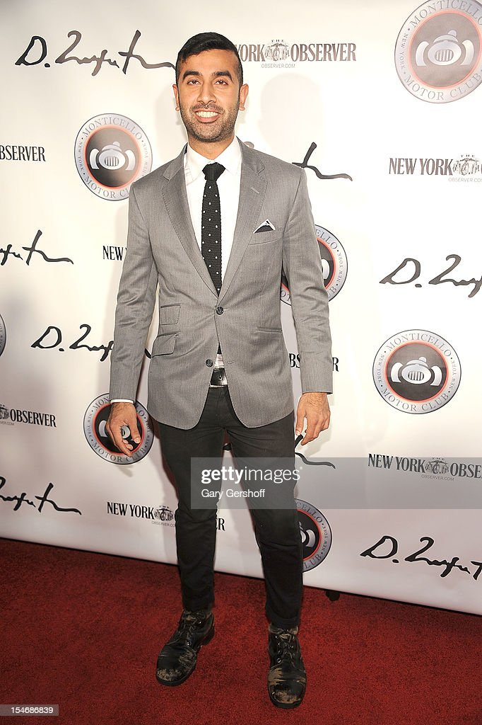 DJ Vikras Sapra attends the Artist Domingo Zapata VIP Art Reception at The Bowery Hotel on October 24, 2012 in New York City.