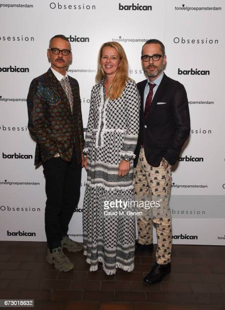 Viktor HorstingPrincess Mabel and Rolf Snoeren attend the press night after party for 'Obsession' at The Barbican Centre on April 25 2017 in London...