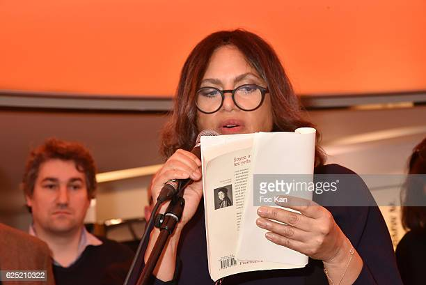 Viktor Lazlo attends 'Le Prix Du Style 2016' Literary awards at BMW Brand Store GeorgesV on November 22 2016 in Paris France