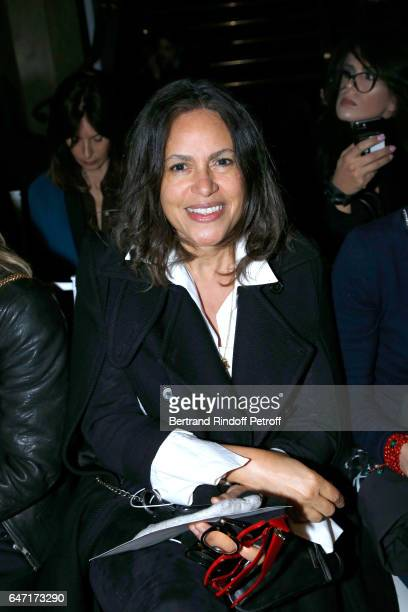 Viktor Lazlo attends the Alexis Mabille show as part of the Paris Fashion Week Womenswear Fall/Winter 2017/2018 on March 2 2017 in Paris France