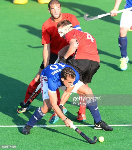 Viktor Lockwood of France during day 8 of the FIH Hockey World League Men's Semi Finals 7th8th place match between Egypt and France at Wits...