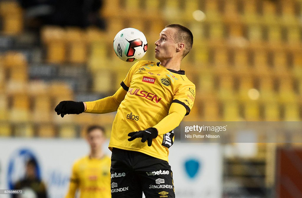 Viktor Prodell of IF Elfsborg during the Allsvenskan match between IF Elfsborg and Djurgardens IF at Boras Arena on April 28, 2016 in Boras, Sweden.