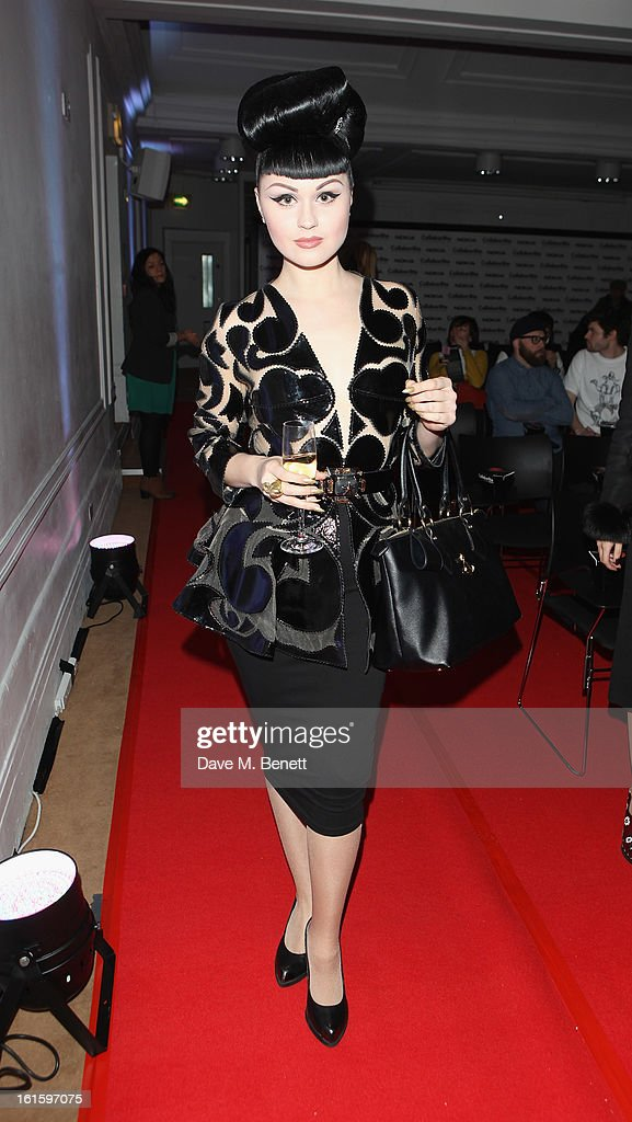 Viktoria Modesta attends the Collabor8te Connected by NOKIA Premiere at Regent Street Cinema on February 12, 2013 in London, England.