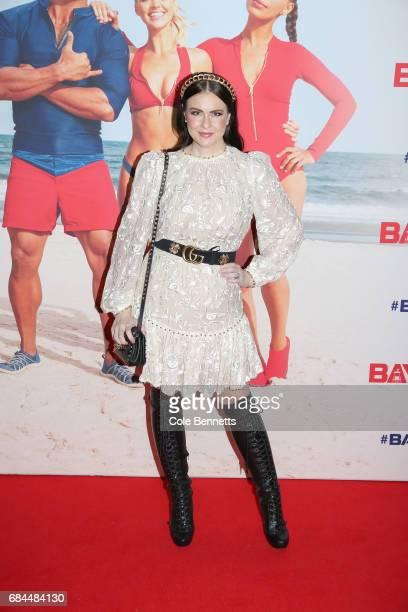 Viktoria Novak arrives ahead of the Australian Premiere of Baywatch on May 18 2017 in Sydney Australia