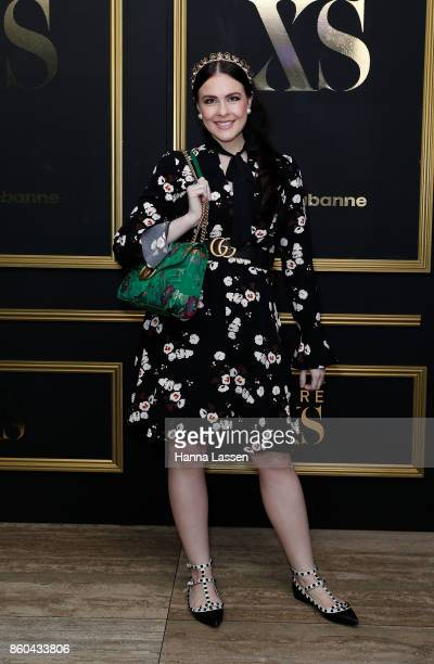 Viktoria Novak arrives ahead of the Paco Rabanne men's fragrance launch at the Ivy Penthouse on October 12 2017 in Sydney Australia