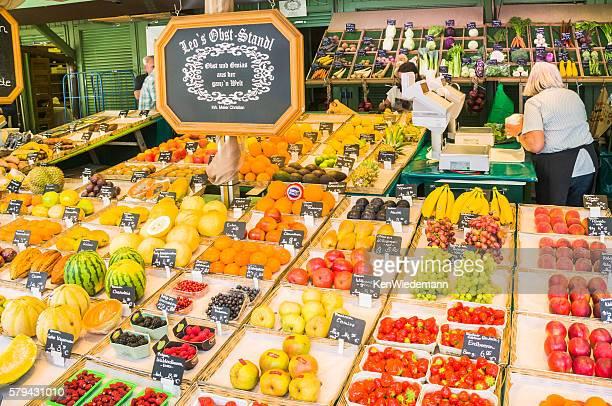 Viktualienmarkt Fruit Seller