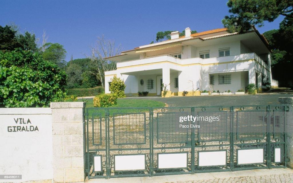 Vila Giralda, Don Juan de Borbon´s residence in Estoril