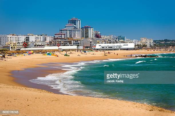 Vilamoura beach on South of Portuga