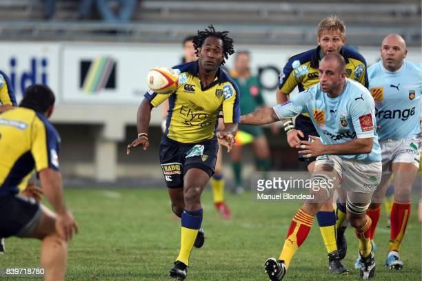 Vilimoni DELASAU Perpignan / Clermont Auvergne Pre saison 2007/2008 match amical