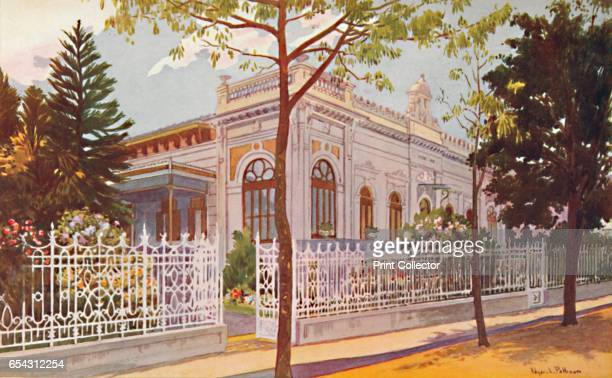 Vilino Nair Residence of Admiral Baron de Teffe von Hoonholtz Petropolis 1914 Antonio Luis von Hoonholtz nobleman diplomat geographer politician and...