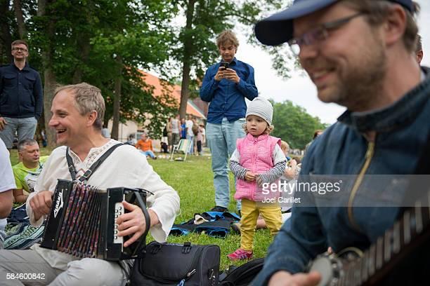 Viljandi Folk Music Festival in Estonia