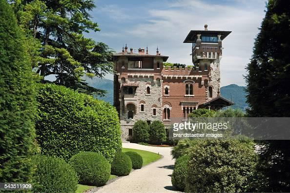 Villa and Garden Gaeta at Lago di Como About 2000