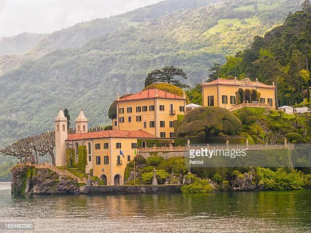 Villa at lake Como