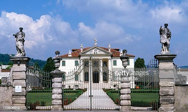 Villa Cordellina Lombardi architect Giorgio Massari Montecchio Maggiore Veneto Italy