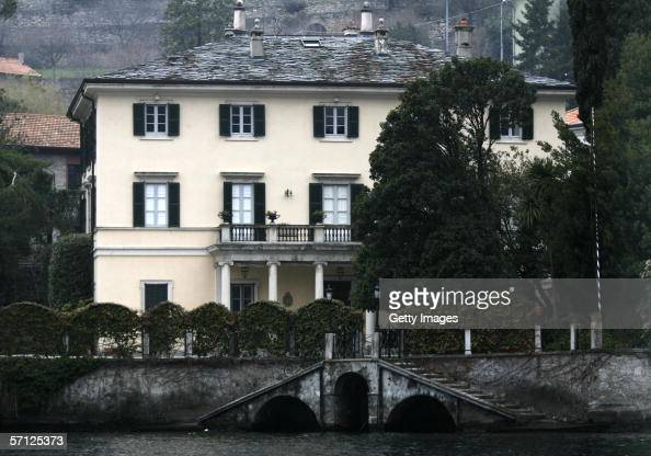Villa Oleandra owned by George Clooney is seen on March 18 2006 in Como Italy Lake Como in Laglio is one of the possible place being rumoured by the...