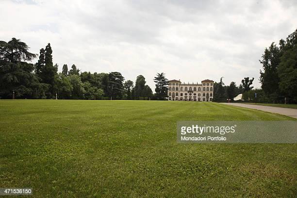 'Villa San Carlo Borromeo belonging to professor Armando Verdiglione shot for a photo shoot on June 18th 2011 in Senago Italy '