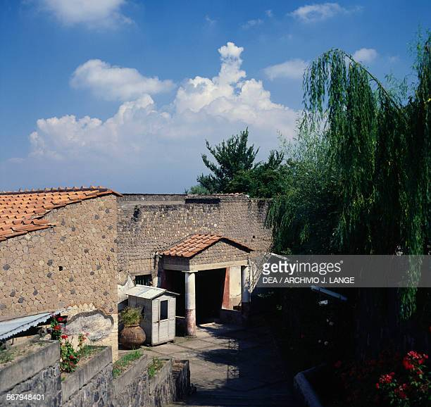 Villa San Marco Roman country residence of the ancient city of Stabiae Castellammare di Stabia Campania Italy