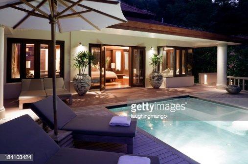 villa swimming pool phuket