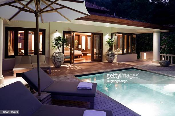 villa swimming pool phuket
