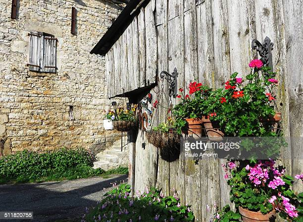 Village at Mountain in France