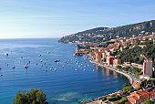 Village at the mediterranean sea Cote D'Azure