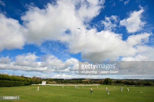 Village Cricket Monday Blues