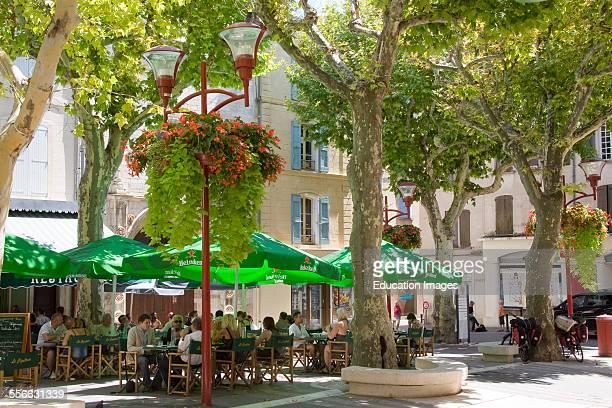 Village De Manosque Square of Village Department 04 PACA or Provence Alpes Cote d'Azur Region South of France