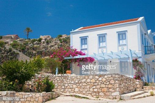 Village house, Mandraki, Kastellorizo, Greece