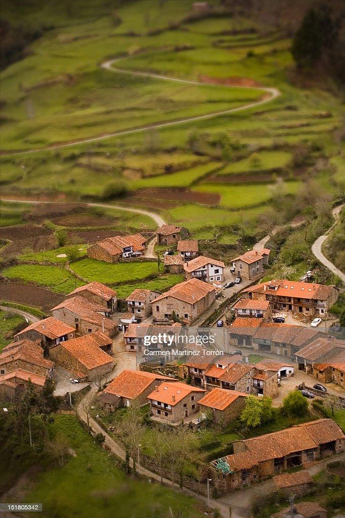 Village in Spain : Stock Photo