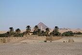 A village in the Sudanese Sahara