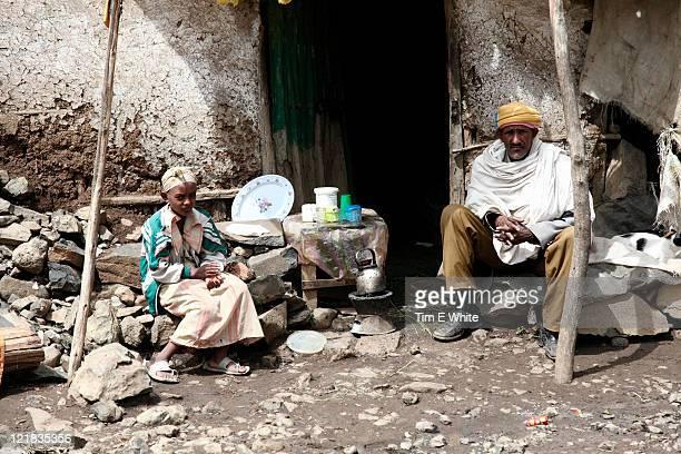 Village near Simien National Park, Ethiopia, Africa