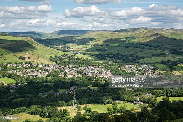 Village nestled in the hills of Northern England