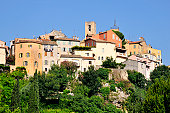 Village of Biot on the top of a hill in the Alpes-Maritimes department in southeastern France