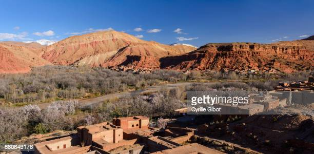 Village of Boutaghrar, Valley of Roses, Atlas Mountains, Morocco