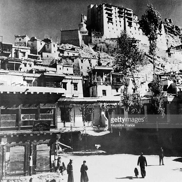 Village Of Ladakh Located At the Border Of Tibet And Kashmir Where Violent Fights Between Chinese And Indian Armies Take Place in the province of...