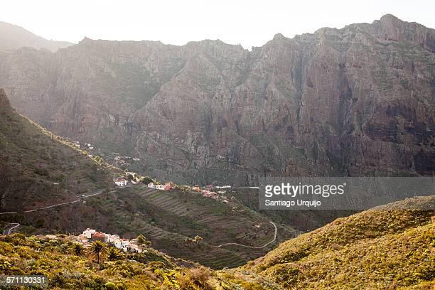 Village of Masca in gorge of Macizo de Teno