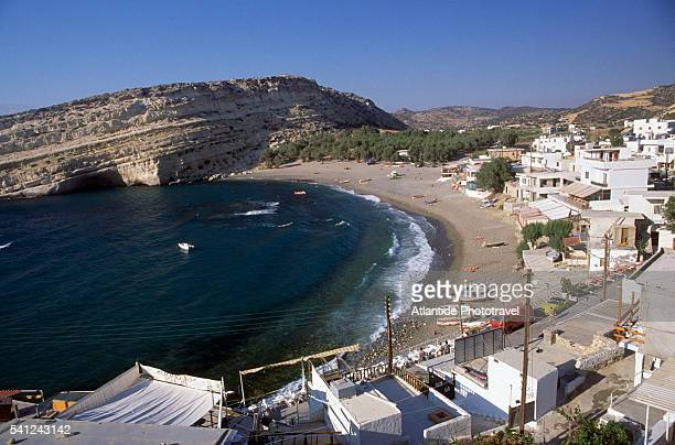 Village of Matala and Bay