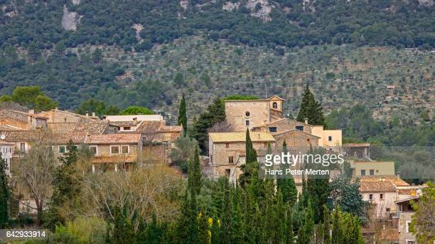 Village of Orient, Tramuntana Mountains, Majorca, Balearic Islands, Spain