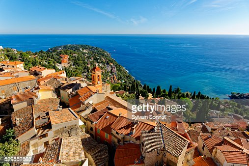 Roquebrune cap martin stock photos and pictures getty images for Azureva roquebrune cap martin piscine