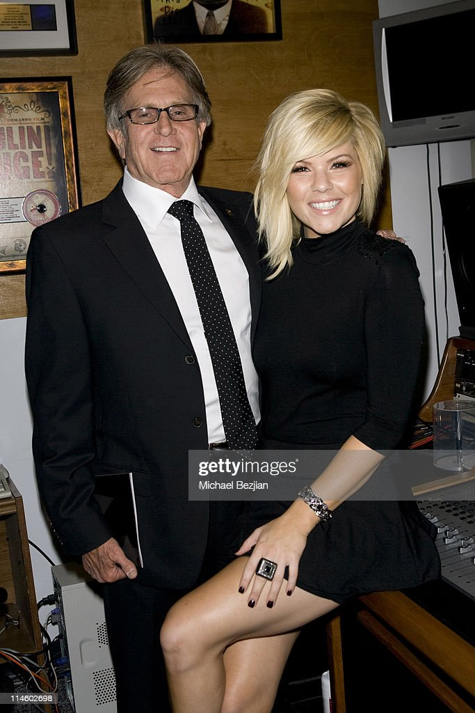 Village Recording Studios CEO Jeff Greenberg and recording artist Kimberly Caldwell attend the Boyle Heights Technology Youth Center 4th Annual...