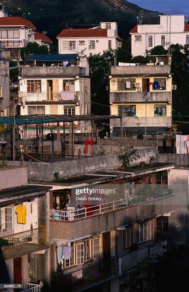 Village scene at Yung Shue Wan village.