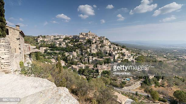 Village skyline, Gordes, Cote d'Azur, France